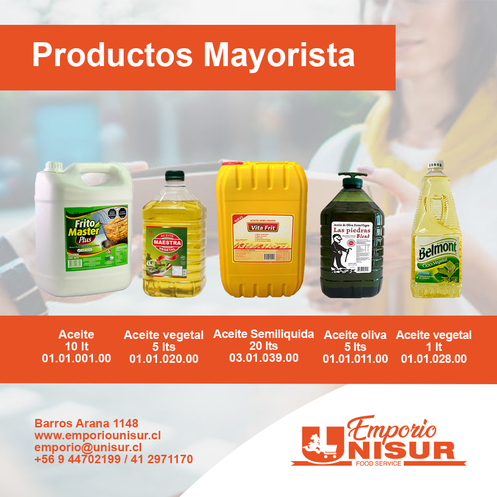 catalogo mayor 2021 Aceite