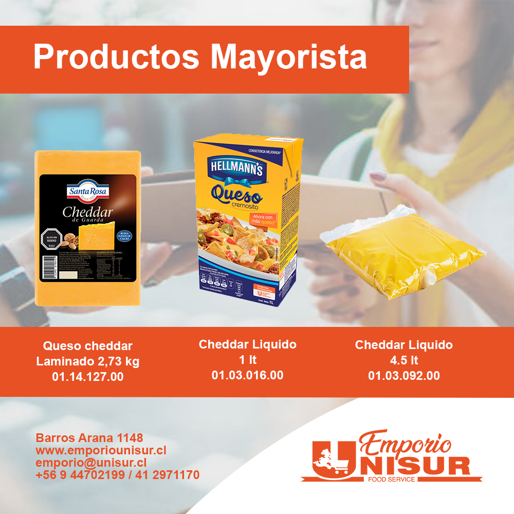 catalogo mayor 2021 Cheddar