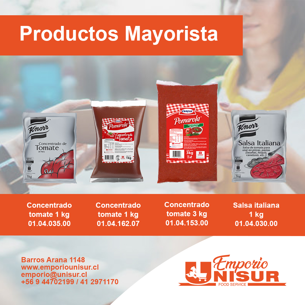 catalogo mayor 2021 concentrados y salsas