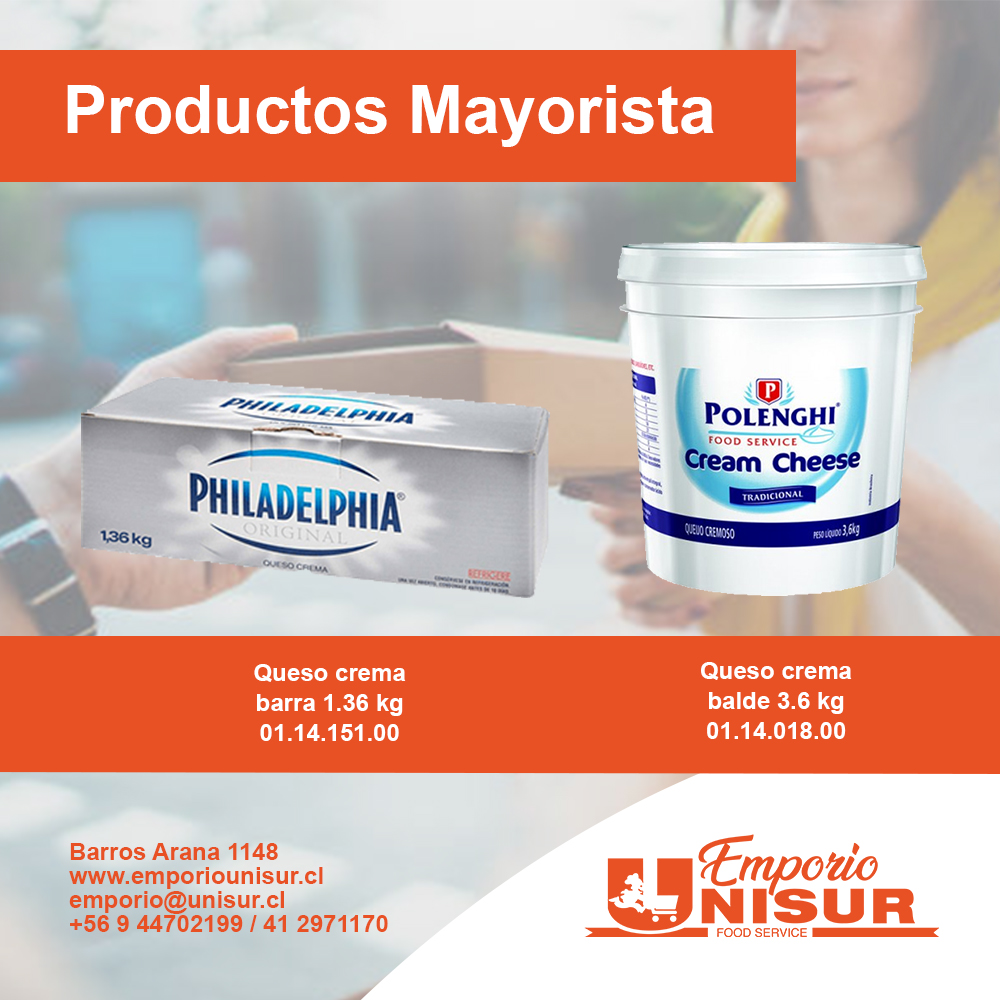 catalogo mayor 2021 queso crema